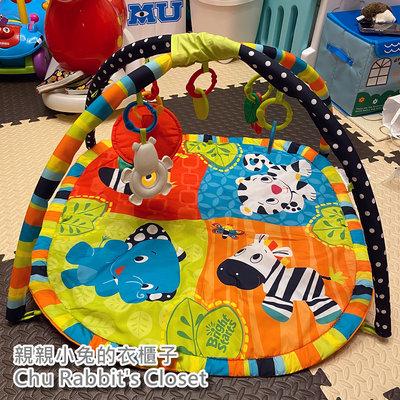 Chu Rabbit's Closet 二手 美國 Bright starts 動物樂園 寶寶 遊戲墊/床墊/健力架