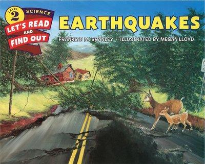 *小貝比的家*EARTHQUAKES/L2/平裝/7~12歲/科學/安全教育