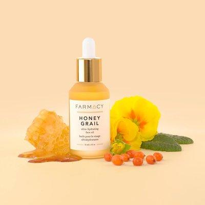 美國天然品牌 FARMACY 蜂漿特潤保濕精華油 Honey Grail Face Oil 30ml