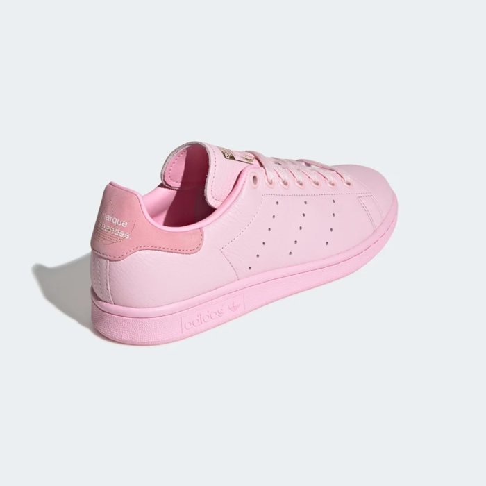 Adidas Originals 全新 Stan Smith 粉紅色 棕色縫線 運動鞋 休閒鞋 CG5985