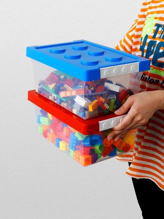 hello小店-玩具收納盒兒童積木分類整理箱塑料透明小汽車磁力貼收納儲物#收納盒#零件收納#五金收納#
