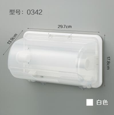【優上】日本進口inomata 廚房紙巾盒 磁石捲紙架 紙巾捲紙筒(紙巾架 白色)