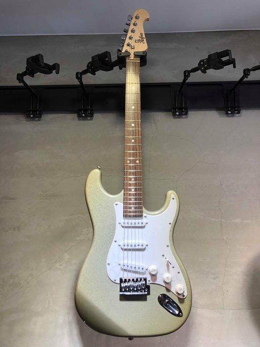 【六絃樂器】全新精選 HOFMA ST型 銀灰亮粉電吉他 / 現貨特價
