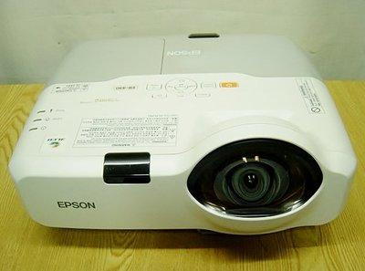 【小劉二手家電】EPSON HDMI 短焦投影機,外觀乾淨,附線材,現場可測試 ! ECB430型