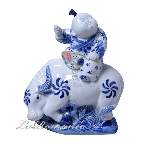 【芮洛蔓 La Romance】正宗景德鎮青花瓷之雕塑瓷 - 田園牧歌 / 人物 / 送禮