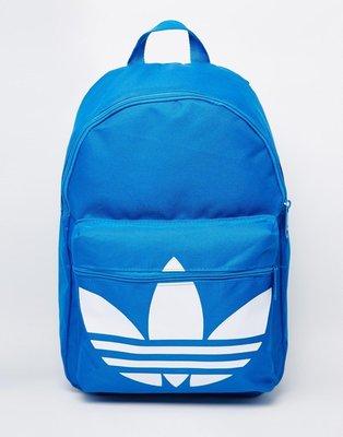 【T4H】Adidas Classic Backpack 藍色 新款 大三葉 休閒 運動 男女 後背包【現貨】 新北市