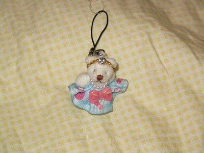 天使熊小鋪 ~ 日本水晶小熊布偶 手機吊飾 手提包掛飾 原價890