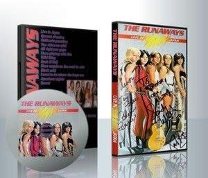 非官方DVD 翹家女聲 Runaways liveJapan + footage JOAN JETT LITA FORD