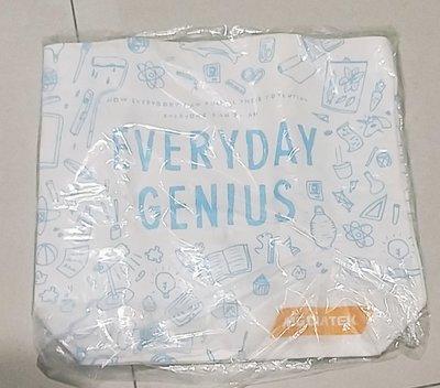 2454 聯發科技 隨身購物袋 厚款麻布 Mediatek 企業商標 環保 發哥 大容量 單肩上課包 插畫設計 89元起