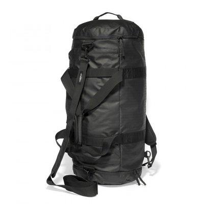 32折 南◇現 EASTPAK Lumber 旅行袋 黑色 行李袋 圓筒包 防潑水 杜邦帆布 側背肩背手提