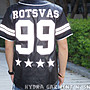 【HYDRA】 ROCK STEADY RS 美式 背號 99 棒球 襯衫 反光 拼接 條紋 S M L