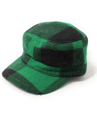 Ca4La日本製 *簡約繽紛幾何造型羊毛質感 海軍帽 鴨舍帽 (NO.1052)