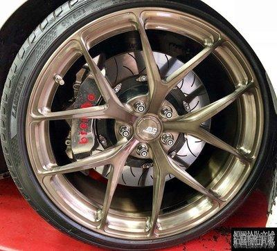 全新鋁圈 20吋 BC RZ21 Wheels 單片鍛造客製化 各車規格訂製 18~23吋 428I F32 實裝圖