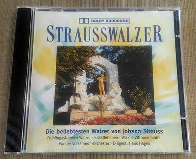 ◎奧地利版?古典音樂-史特勞斯的圓舞曲-Strauss walzer-等12首-CD-看圖◎strausswalzer