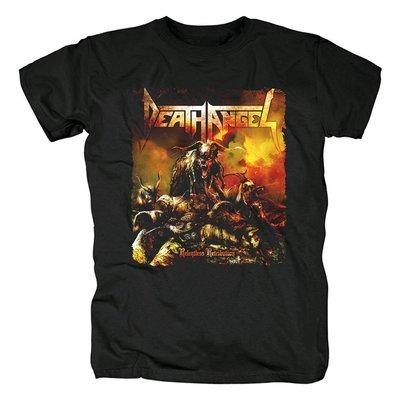 Death Angel鞭打速度金屬Relentless Retribution專輯流行音樂T恤