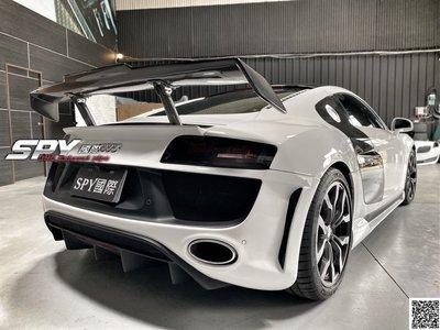 SPY國際 奧迪 Audi R8 碳纖維尾翼 卡夢