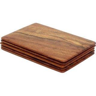 (MST MAGIC) 實木牌塊 黑色/棕色 Wood Cutter 花切牌塊