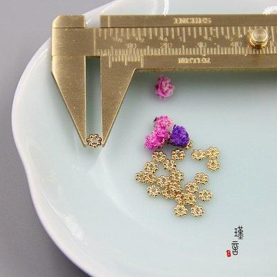 阿里家 美國進口14K包金珠定位珠隔片包珠片散珠圓珠手工diy飾品配件材料/同一標籤商品滿200發貨