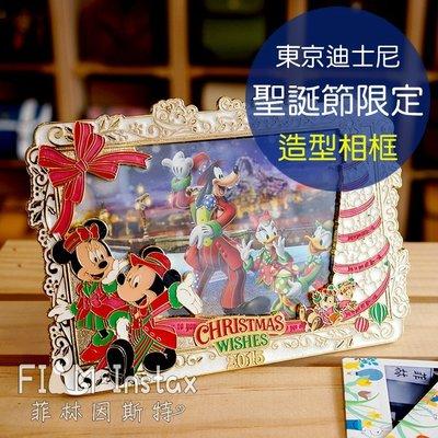 【菲林因斯特】日本東京 disney 迪士尼 2015 海洋 聖誕造型相框 /4X6相片 寬幅底片 相片收納 聖誕禮物
