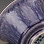 ㊣姥姥的私藏㊣大清康熙 窯變紫釉鈴鐺杯