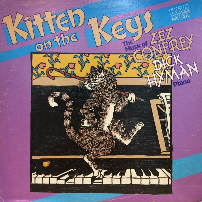 §小宋唱片§ 美版/Dick Hyman – Kitten On The Keys: The Music/二手西洋黑膠