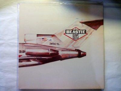 2012年主唱Adam Yauch離世的Beastie Boys 1986首張Licensed To Ill 黑膠唱片