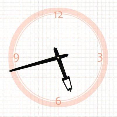 【鐘點站】 J125087 SKP壓針機芯 / 分針12.5公分 時針8.7公分 / DIY 時鐘 掛鐘 鐘針