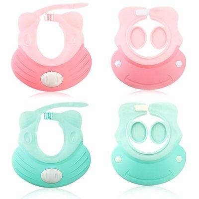半島鐵盒 嬰兒洗頭神器  小孩洗頭帽防水帽兒童可調節硅膠浴帽寶寶洗澡嬰兒洗發帽護耳神器