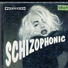 *還有唱片行* NUNO / SCHIZOPHONIC 二手 Y3739