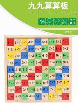 【晴晴百寶盒】木製九九乘法表 算數 益智遊戲 寶寶过家家玩具 角色扮演 親子互動 生日禮物 平價促銷 P113