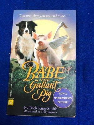 【彩虹小館QQ】英文書~BABE THE Gallant Pig