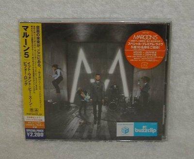 魔力紅Maroon 5-著魔嗎久等了It Won t Be Soon Before Long(日版初回限定盤CD)~全新!