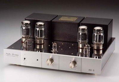 Audio Dream AD-5 60W+ 60W KT88 手工真空管綜合擴大機進化版(音響論壇評論A級榜)