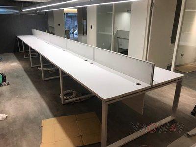 【耀偉】OTTO系統工作站 (辦公桌/辦公屏風-規劃施工-拆組搬遷工程-組合隔間-水電網路)13