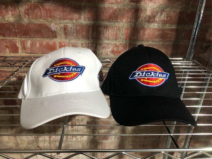 Dickies 美國潮牌 老帽-棒球帽-情侶帽-現貨:黑、白、當天下標當天寄出最快隔天可收到
