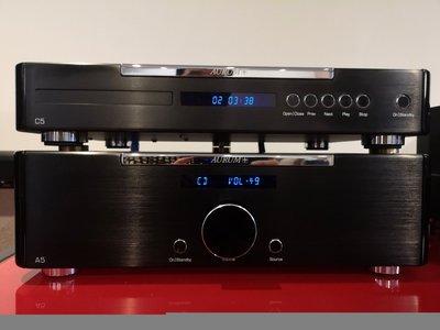 德國quadral手工製CD-C5+綜擴A5,