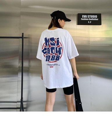 ♡ 右米衣飾 ♡【美式風印花T恤】大碼女裝 胖mm 棉花糖女孩 韓系網紅 ins潮 大碼T恤 輕鬆穿搭 英文字母印花T恤