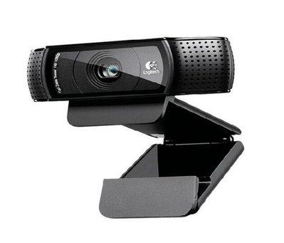電腦攝像頭 Logitech/羅技C920高清攝像頭 免驅動usb電腦直播視頻網路主播攝像頭 內置麥克風#6229