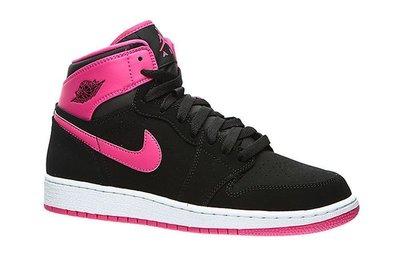 【西寧鹿】AIR JORDAN 1 RETRO HIGH GG 332148-008 黑粉 女鞋 運動鞋 NI015