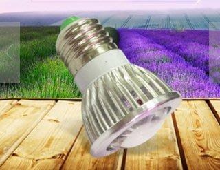6颗LED燈凸鏡植物燈室内植物補光燈大棚蔬菜植物生長燈
