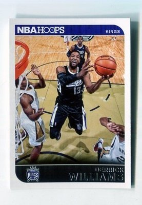 2014-15 Hoops #28 Derrick Williams 沙加緬度國王隊