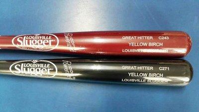 ((綠野運動廠))最新LOUISVILLE高級黃樺木棒球棒BIRCH TIMBER系列,好打彈性佳,棒尾新標鐳雕,優惠中