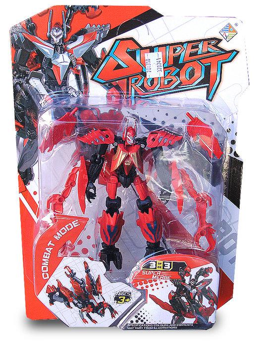 昆蟲變體組 變形機器人 集滿三隻可組合成一隻大機器人