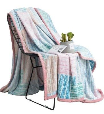120x200公分珊瑚絨毛毯被子加厚冬...