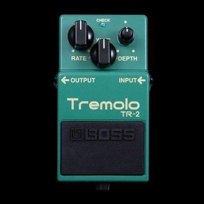 大鼻子樂器 Boss TR-2 with volume Control 單顆 效果器 Tremolo