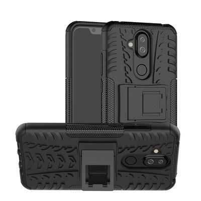 防摔防撞防滑 Nokia 8.1 輪胎內軟殼全包覆手機殼站立鏡頭保護殼保護套保護貼皮套空壓殼犀牛盾