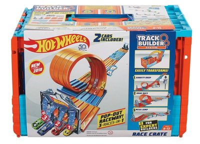 (I LOVE樂多)hot wheels pop out raceway 3 RACES IN 1 風火輪最強組合