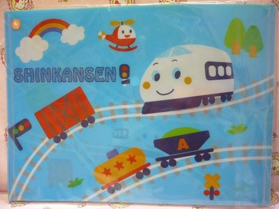 Sanrio Shinkansen 新幹線 Stationery A4 啪鈕 File Folder Pocket 文件袋 文件夾 08