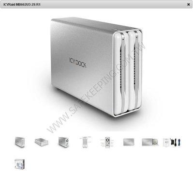 MB662U3-2S R1 SATA3 USB 3.0 RAID硬碟外接盒(支援UASP) 最新版