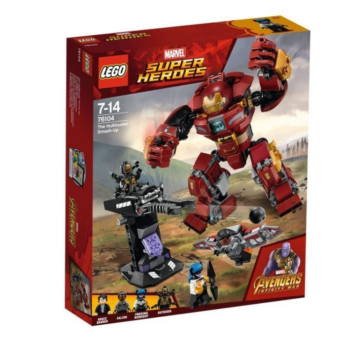 美版【LEGO 樂高】全新正品 益智玩具 積木/ 超級英雄: The Hulkbuster Smash-Up 76104